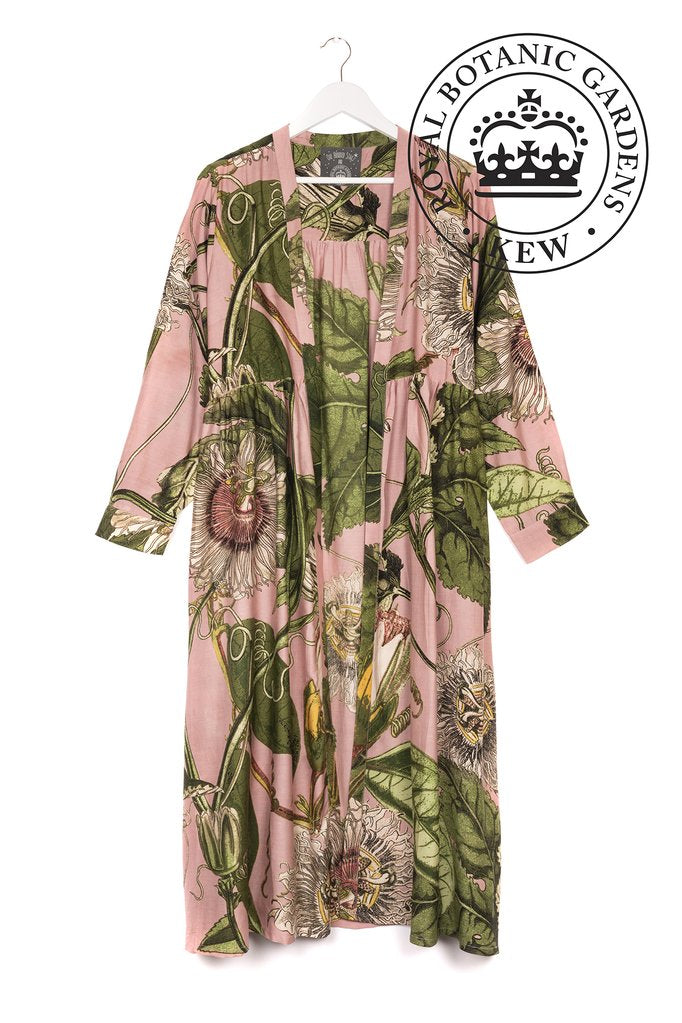 One Hundred Stars & KEW Passion Flower Pink Duster