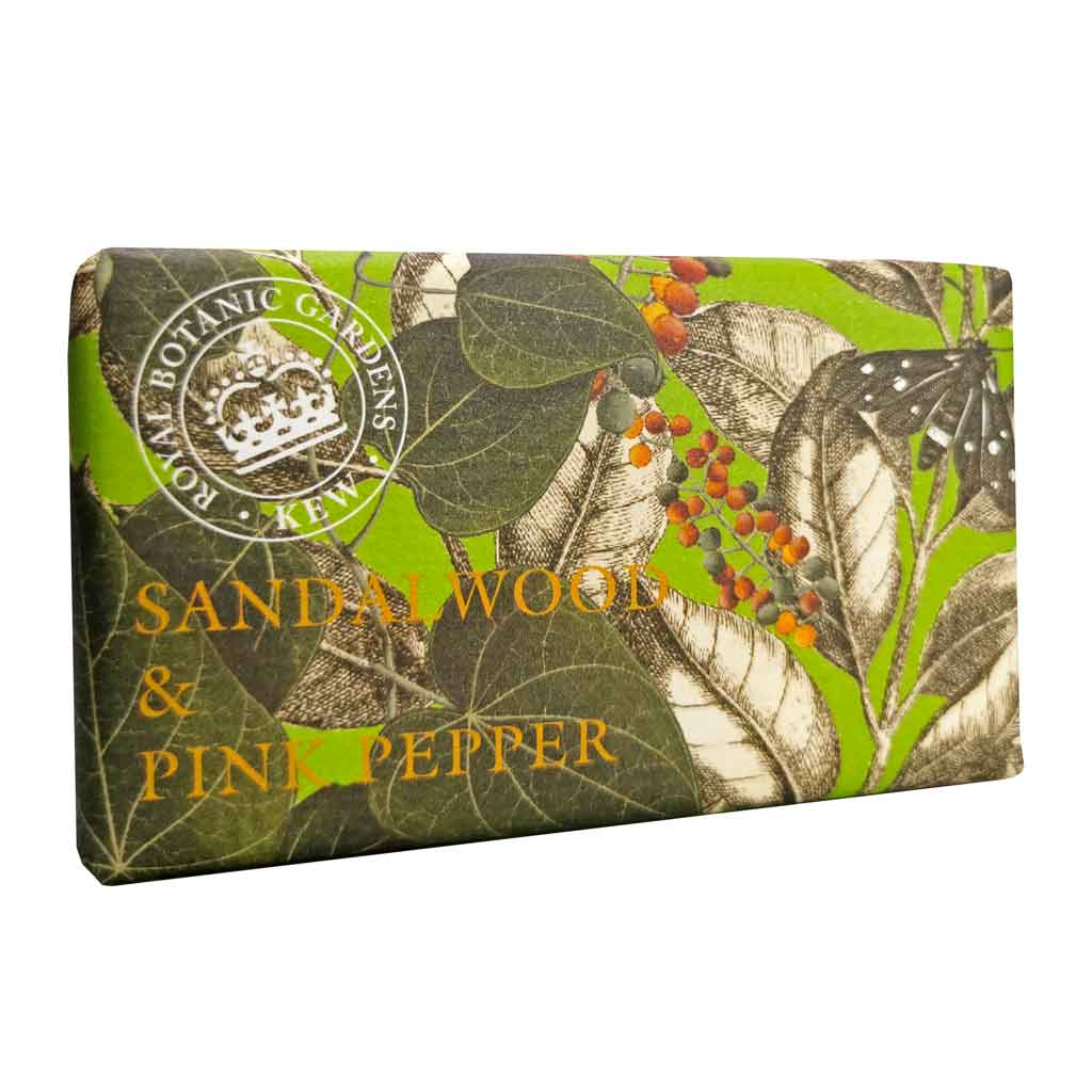 Sandalwood and Pink Pepper Kew Gardens Soap