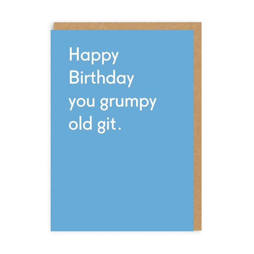 Card Birthday Grumpy Old