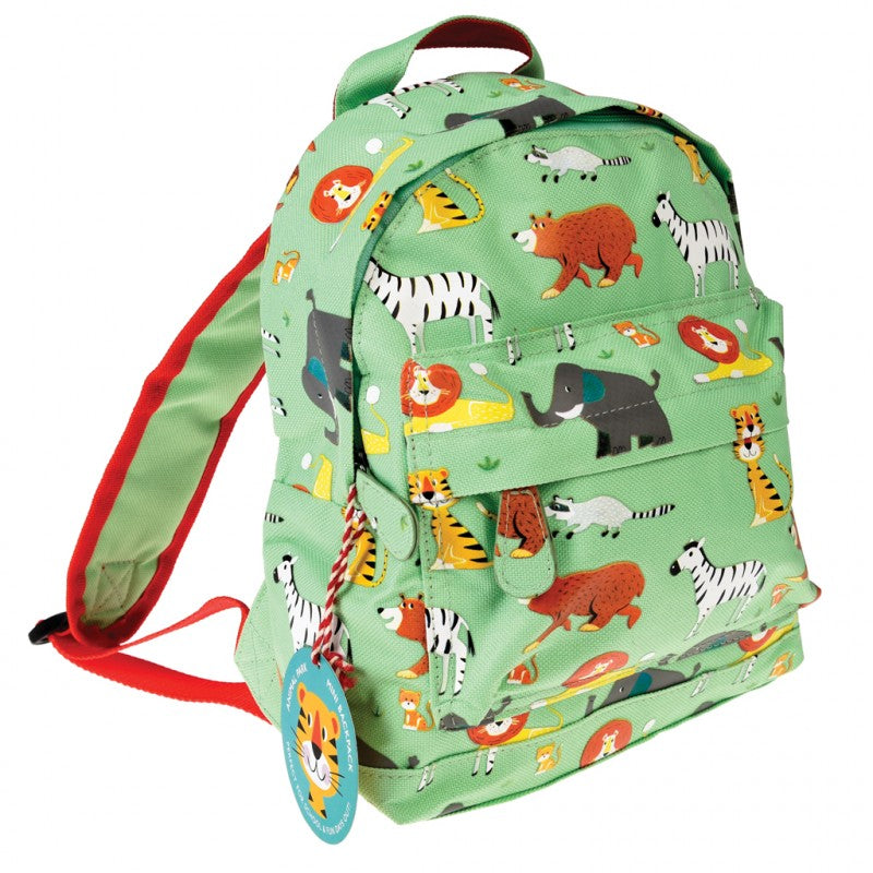 Animal Pattern Kids Backpack