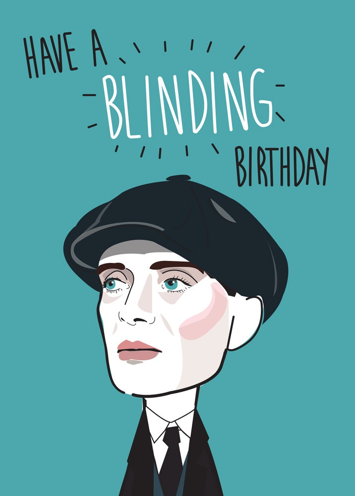 Peaky Blinders Birthday Card