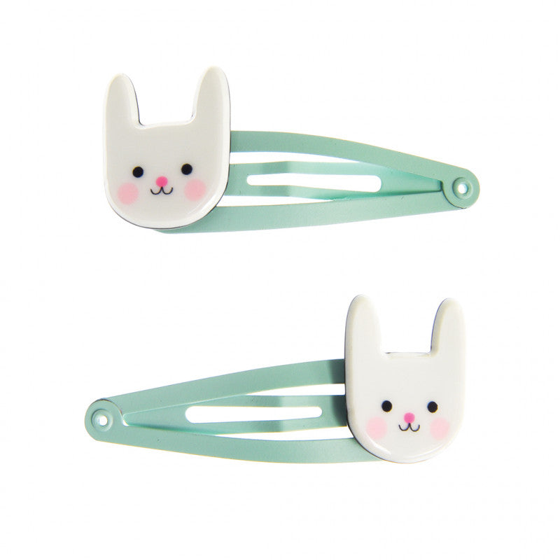 Bunny Hair Clips (set of 2)