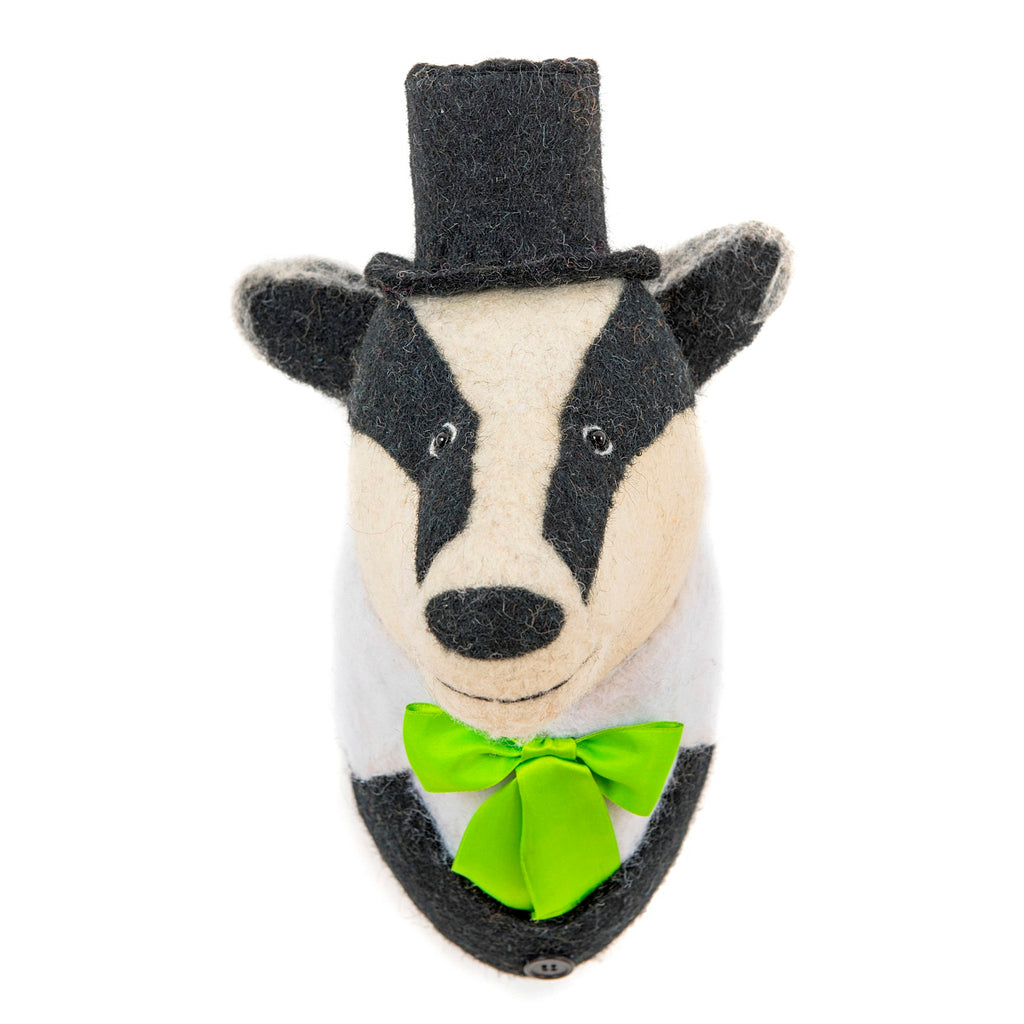 Brigadier Bill Badger Felt Head