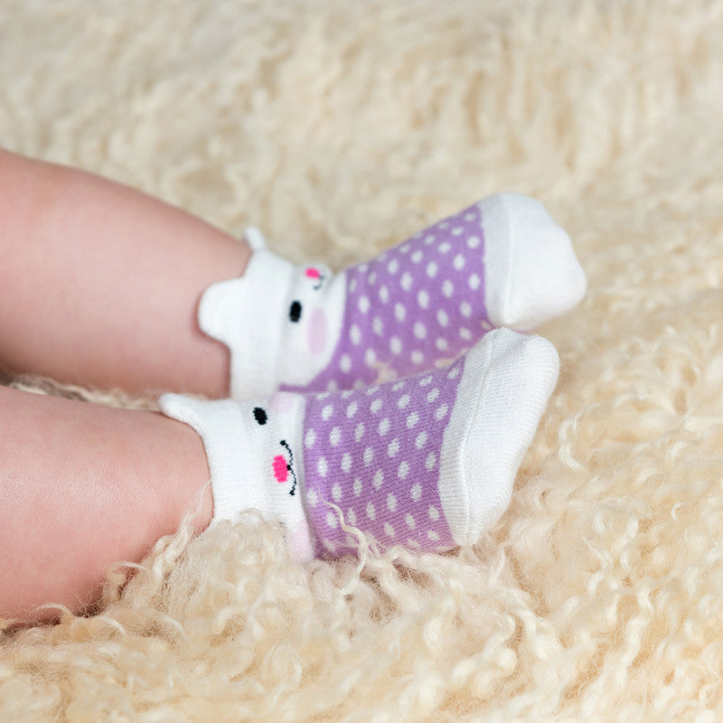 Bonnie The Bunny Design Baby Socks (set Of 4)