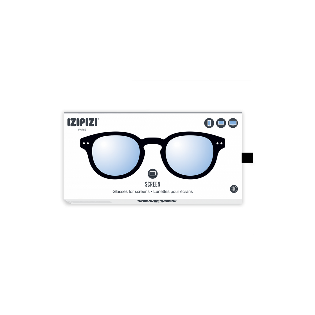 Izipizi #C Black Screen Protection Reading Glasses