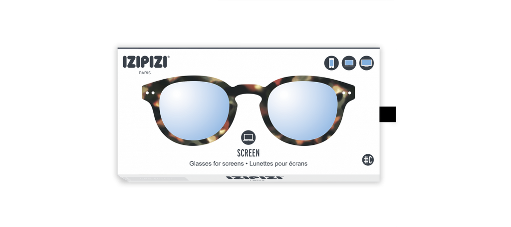 Izipizi #C Tortoise Screen Protection Reading Glasses