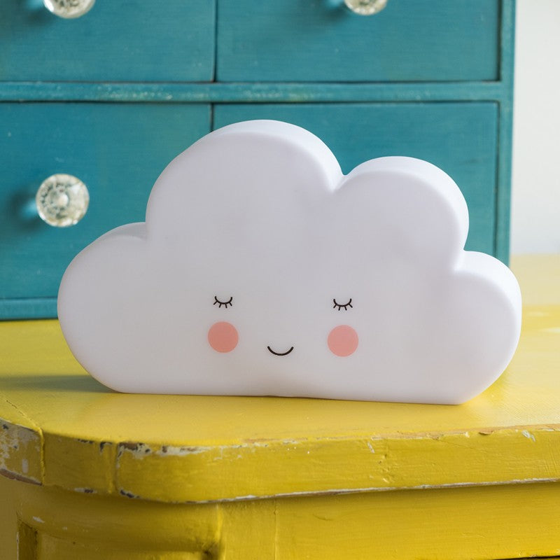 Smiley Cloud Night Light