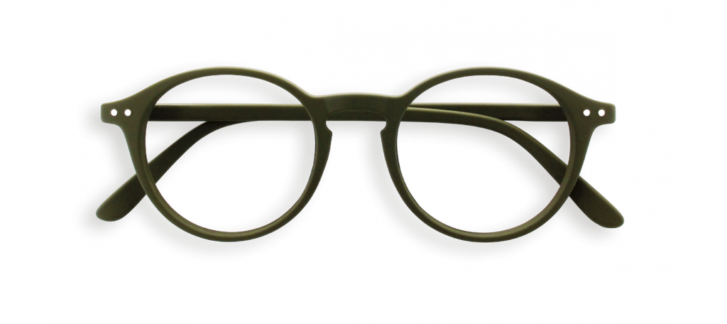 Izipizi #D Khaki Green Reading Glasses
