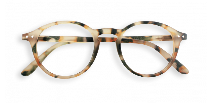 Izipizi #D Light Tortoise Reading Glasses