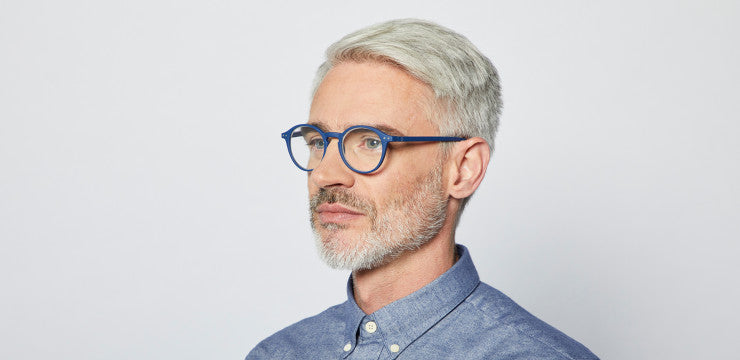 Izipizi #D Navy Blue Reading Glasses