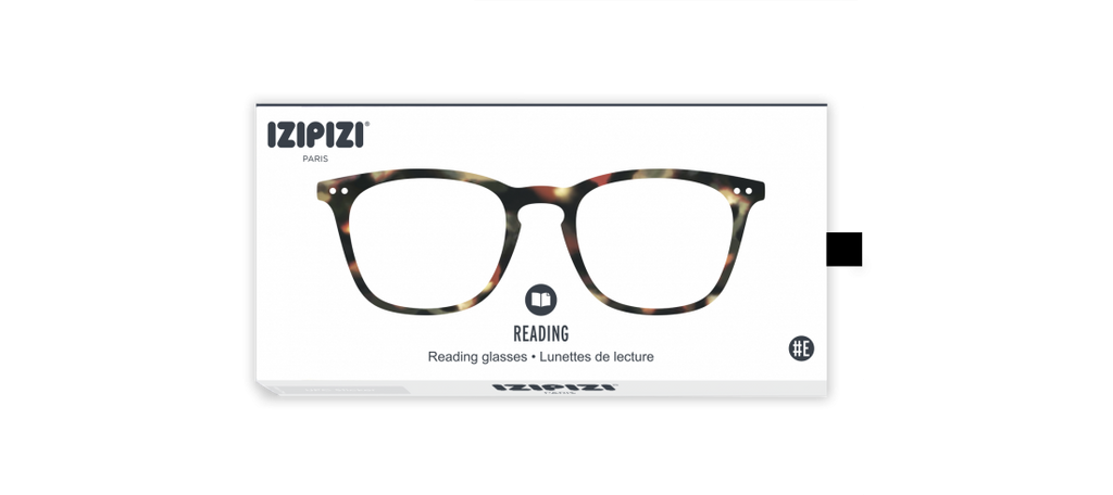 Izipizi #E Tortoise Reading Glasses
