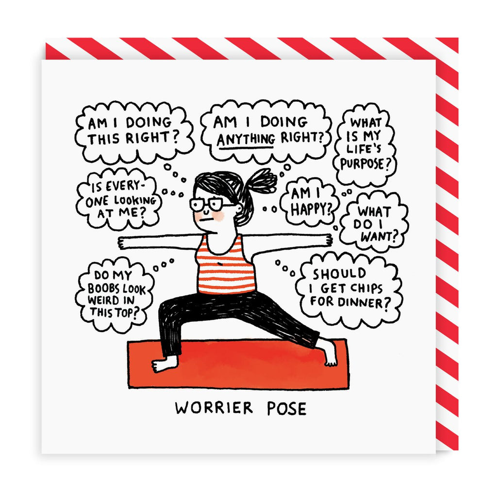 Card Gemma Yoga Worrier