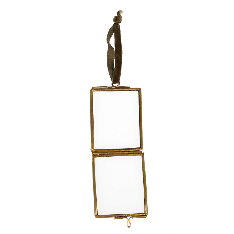 Mini Brass Hanging Frame