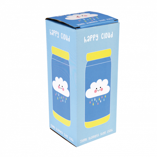 Insulated Happy Cloud Flask