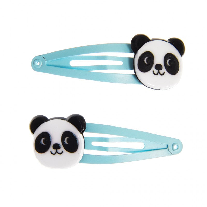 Panda Hair Clips (set of 2)