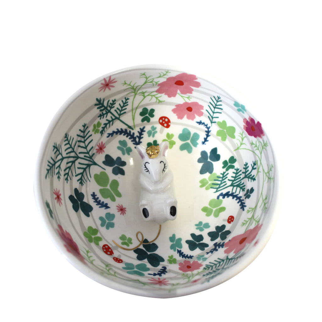 Secret Garden Mouse Bowl With Gift Box