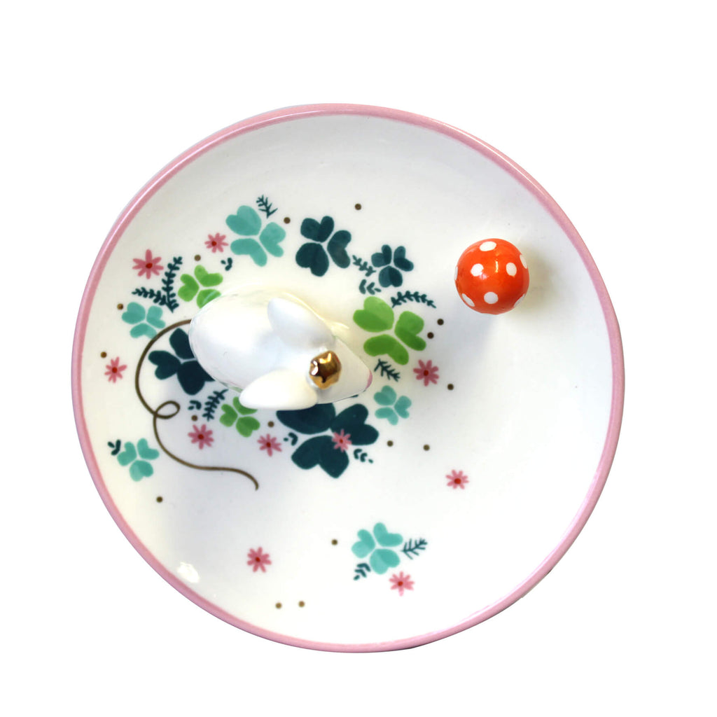 Secret Garden Mouse Dish With Gift Box