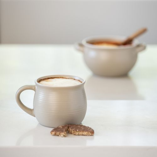 Stoneware Mug Putty