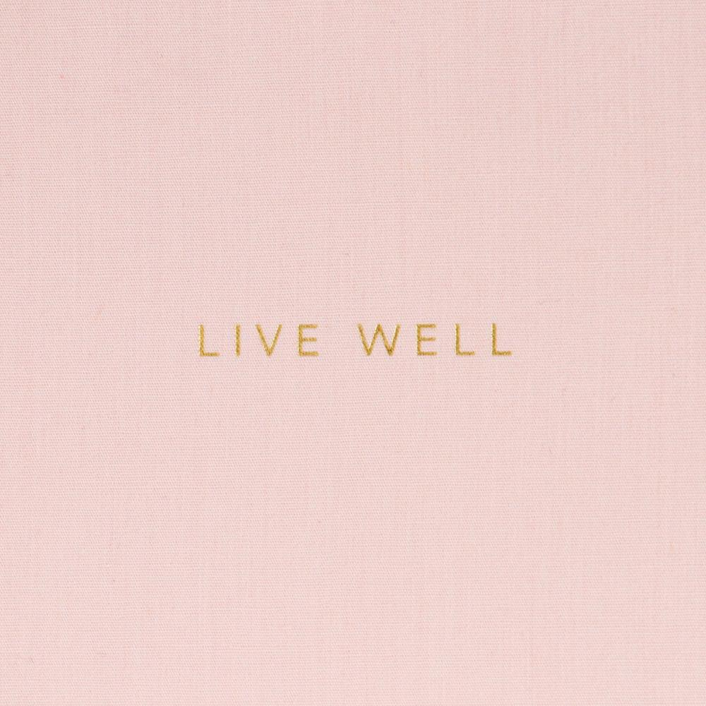 Caroline Gardner Wellness Journal Pink