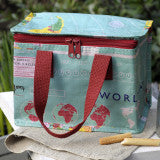 World Map Design Lunch Bag