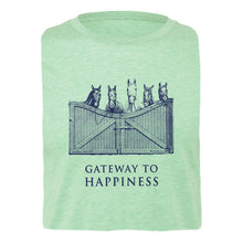 Load image into Gallery viewer, Gateway To Happiness Adult Unisex Short Sleeve Tee 19152