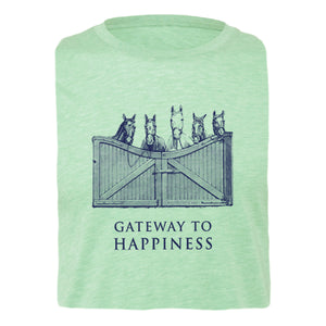 Gateway To Happiness Adult Unisex Short Sleeve Tee 19152