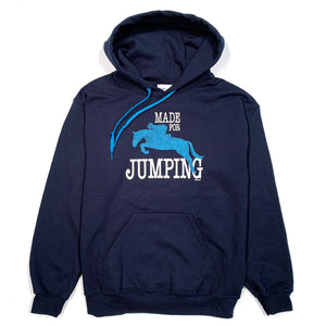 Made For Jumping Adult Hoodie 19503
