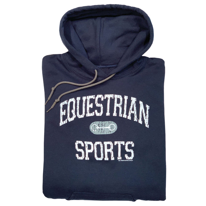 Equestrian Sports with Bit Adult Hoodie 19504