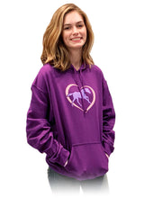 Load image into Gallery viewer, Horse In Heart Adult Hoodie 19507