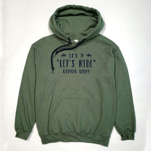 Let's Ride Kinda Day Adult Hoodie 19508