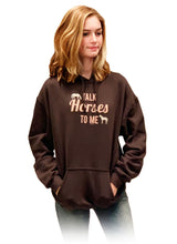 Load image into Gallery viewer, Talk Horses To Me Adult Hoodie 19516