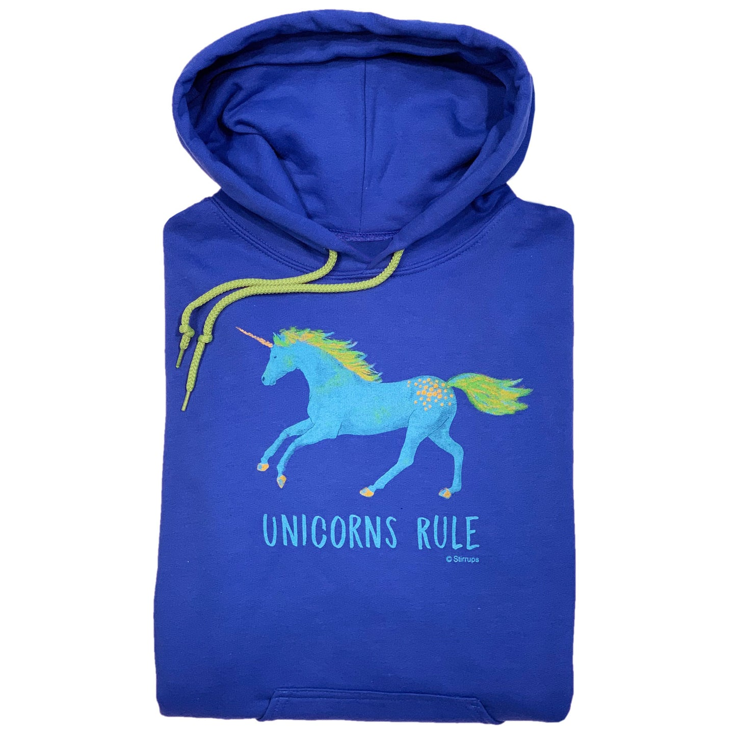 Unicorns Rule Adult Hoodie 19517