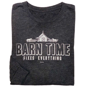 Barn Time Adult Long Sleeve Tee 19542