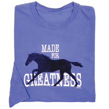 Load image into Gallery viewer, Made For Greatness Adult Long Sleeve Comfort Colors Tee 19553