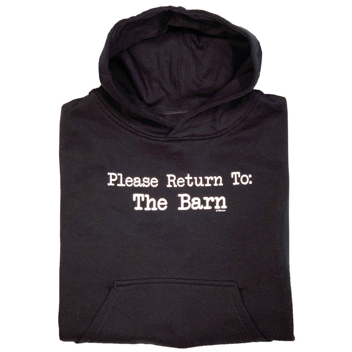 Please Return To Barn Youth Hoodie 19568