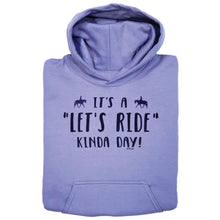Load image into Gallery viewer, Let's Ride Kinda Day Youth Hoodie 19573
