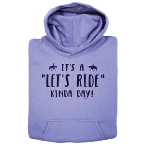 Let's Ride Kinda Day Youth Hoodie 19573