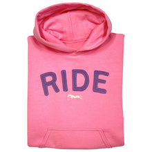 Load image into Gallery viewer, RIDE Embroidered Appliqué Youth Hoodie 19583