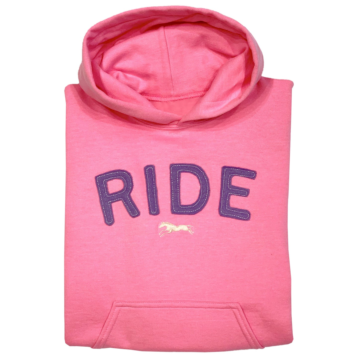 RIDE Embroidered Appliqué Youth Hoodie 19583