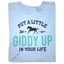 Load image into Gallery viewer, Giddy Up Youth Long Sleeve Tee 19588