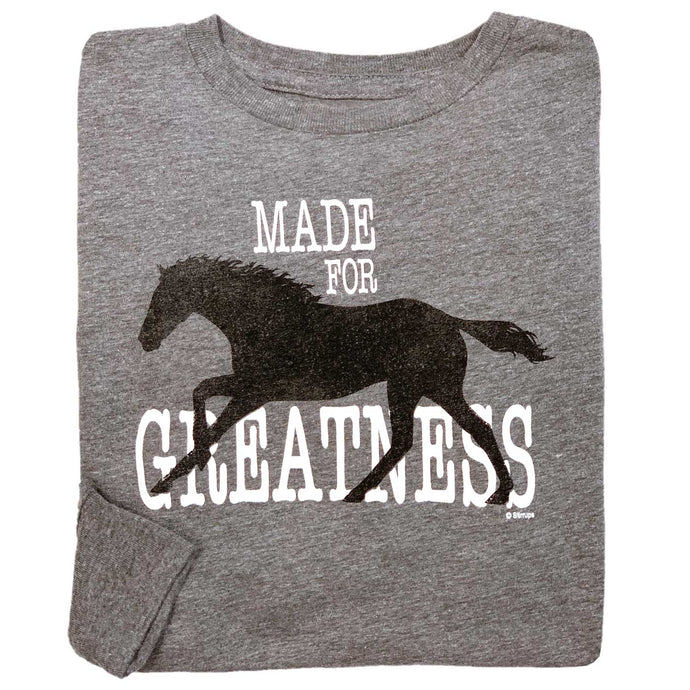 Made For Greatness Youth Long Sleeve Tee 19589