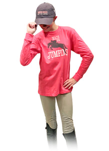 Made For Jumping Youth Long Sleeve Tee 19590