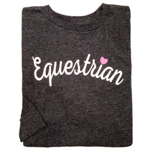 Load image into Gallery viewer, Equestrian Script Youth Long Sleeve Tee 19591