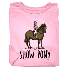 Load image into Gallery viewer, Show Pony Youth Long Sleeve Tee 19596