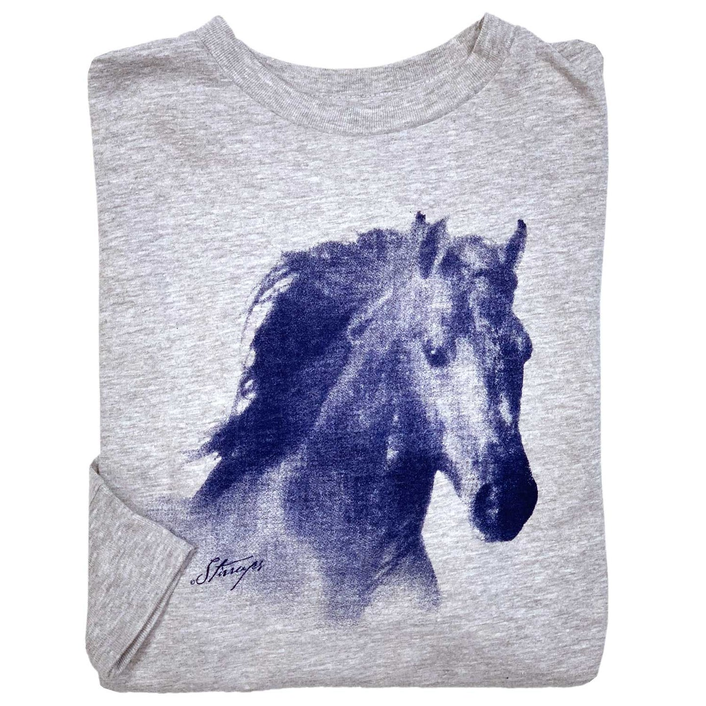 Horse Head Youth Long Sleeve Tee 19597