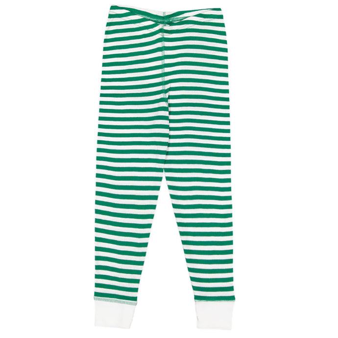 Youth Kelly/White Stripe Pajama Pants 19610