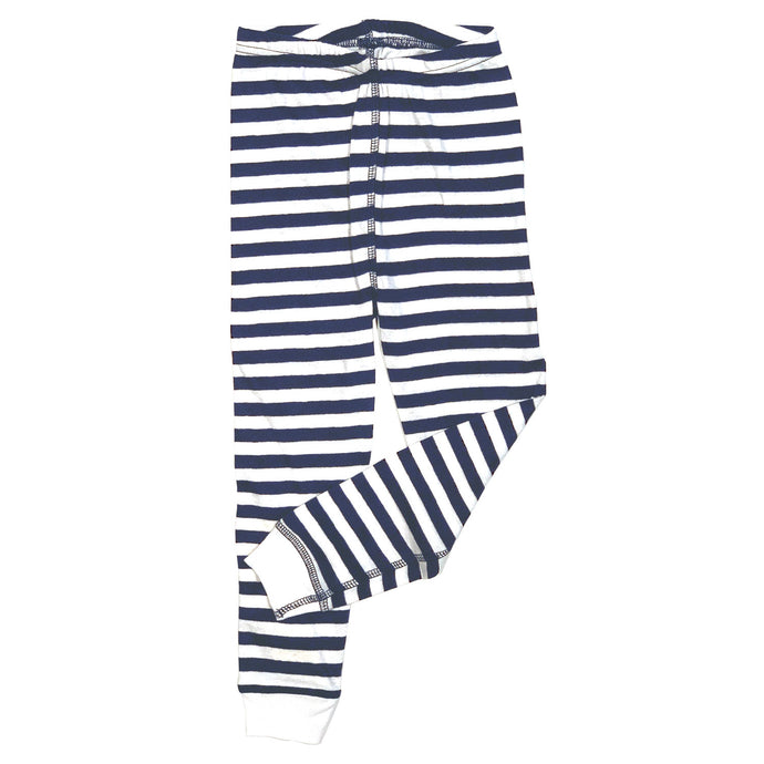 Youth Navy/White Stripe Pajama Pants 19612