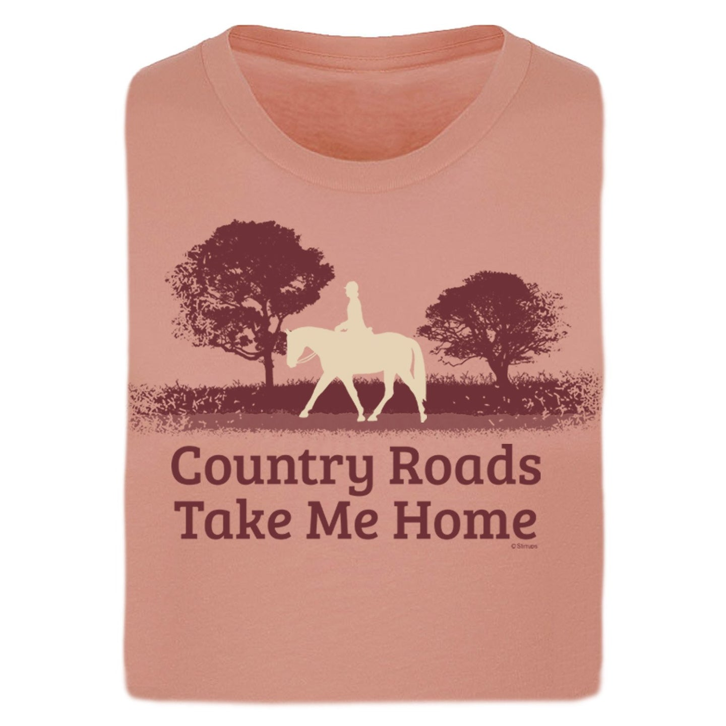 Country Roads Ladies Short Sleeve Tee 20104