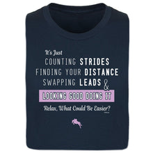 Load image into Gallery viewer, Counting Strides Ladies Short Sleeve Tee 20107