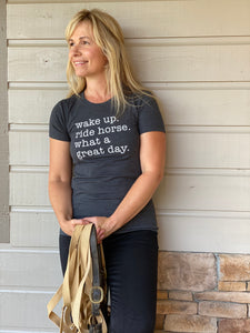 Great Day Ladies Short Sleeve Tee 20109